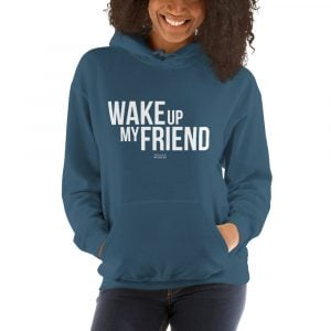 Wake up my friend sweatshirt Franck Nicolas GLOB
